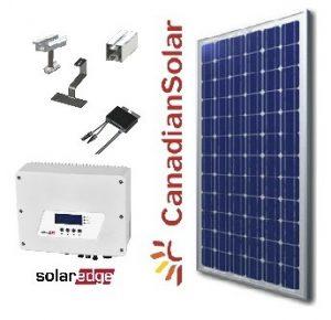 3Kw napelem rendszer
